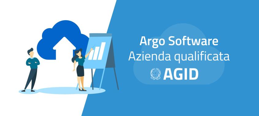 Argo Software è l'unica software house italiana del settore scuola – ad oggi – qualificata AgID.