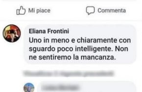Docente posta su Facebook un messaggio offensivo
